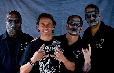 Real life husband rockstar dad slipknot meet and greet with the real life husband rockstar dad slipknot meet and greet with the death masks m4hsunfo