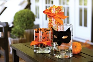 Candy and Candle Filled Vases by Cheeky Chicago