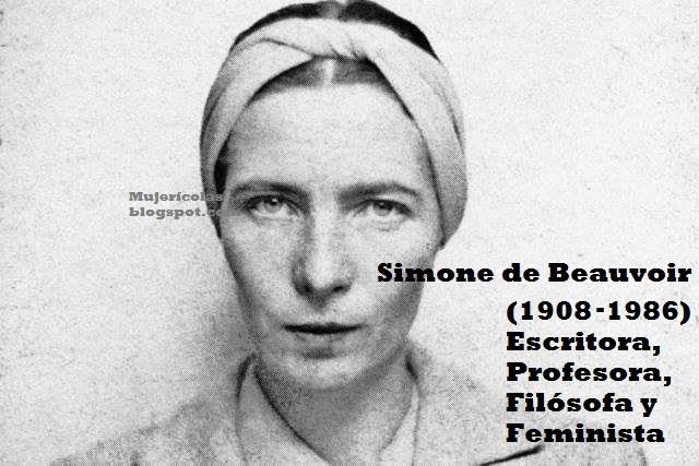 Resultado de imagen para imagen Simone de Beauvoir
