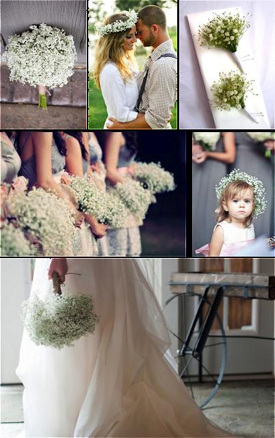 Complementos novia con paniculata