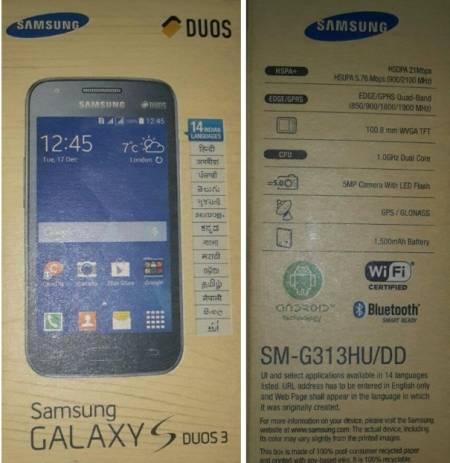 Nuovo smartphone android kitkat dual sim Samsung