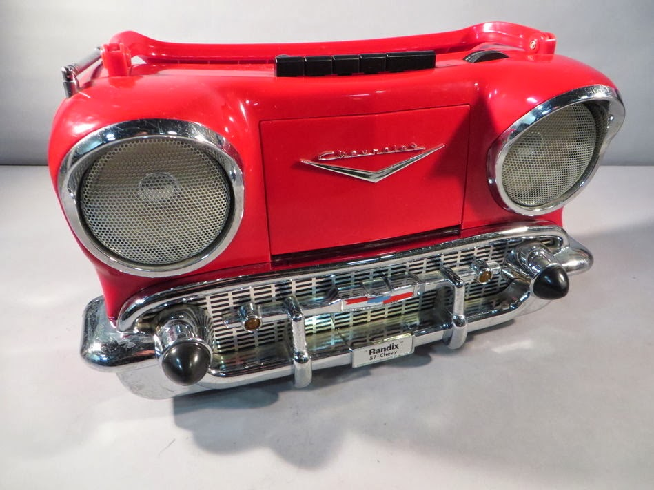 Randix 57 Chevy Cheverolet AM/FM Radio & Cassette Player Boombox