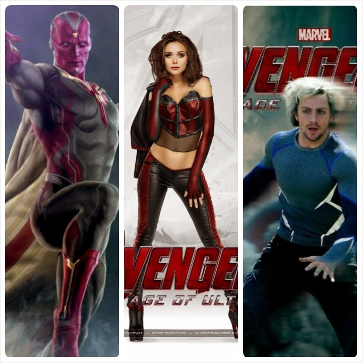 avengers, new member, vision, scarlet witch, quicksilver