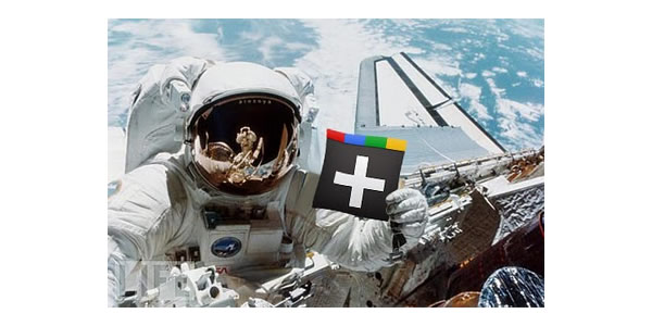 google plus funny images flag on space