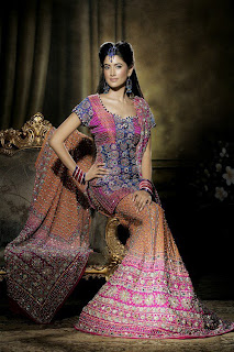 Indian Desi Bridal Lehnda Style