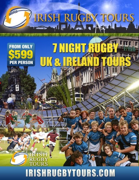 Sponsor: Irish Rugby Tours