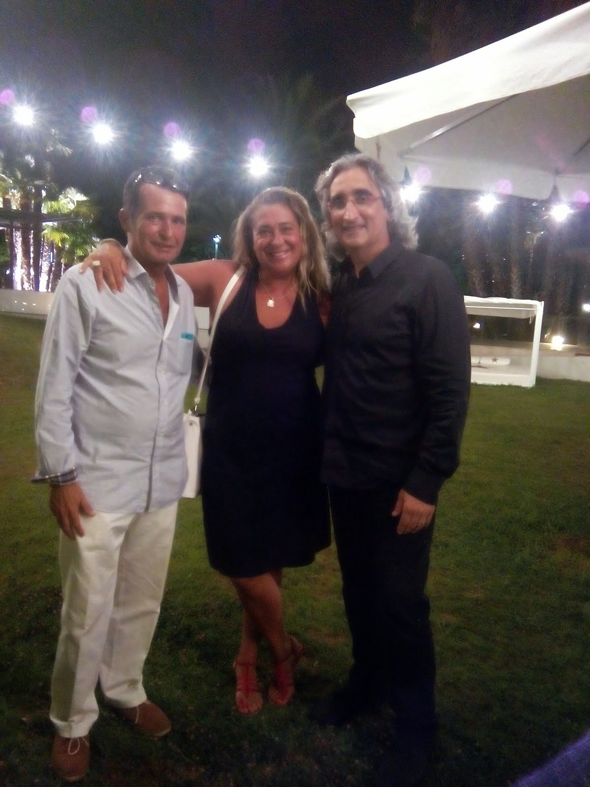 Con Monte y Quim del Club Natación Barcelona