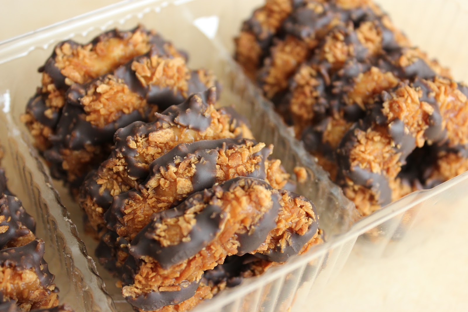 Girl Scout Cookies - Serving Seconds