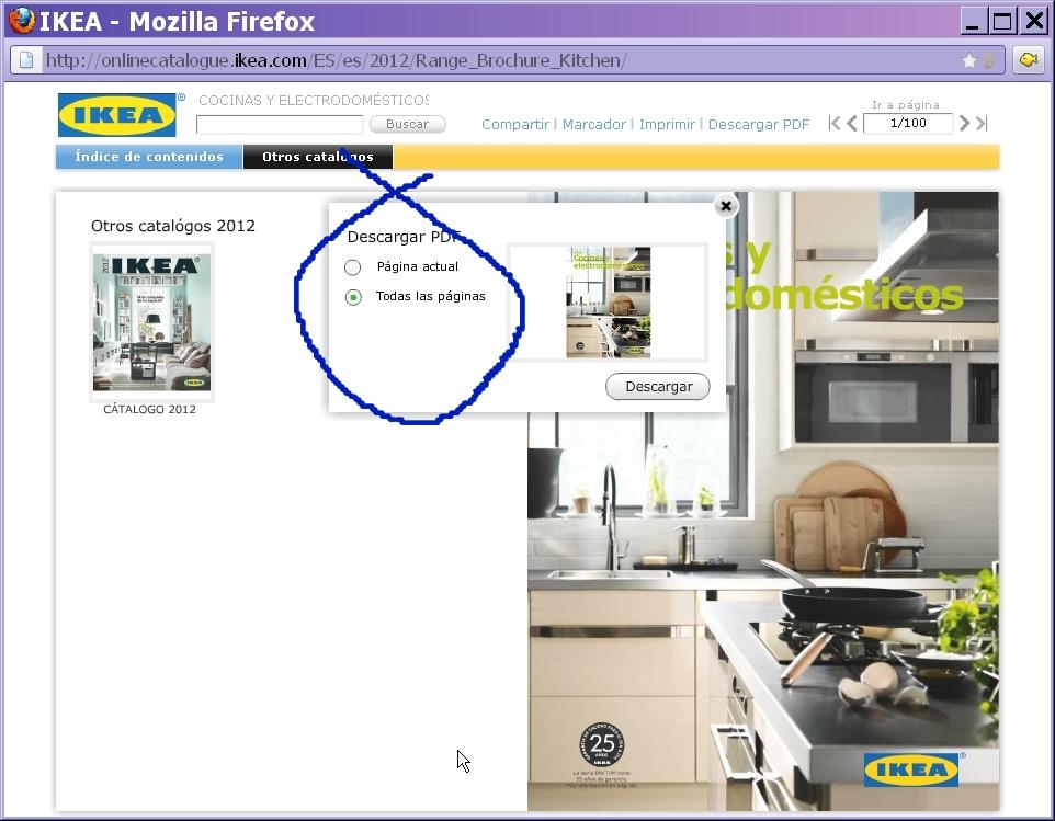 Cluberas catalogo ikea 2012 por fin for Ikea cocinas catalogo 2012