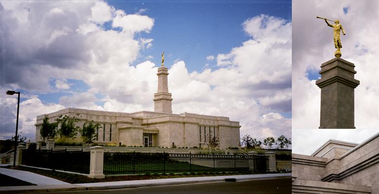 Monticello Utah Temple, August 10, 1999