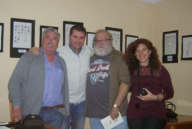 Javinchi, Antoka, Elías y Toñi