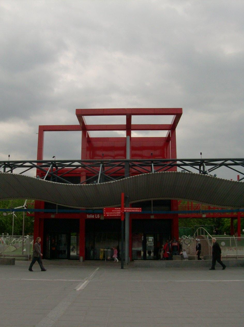 Parc de la villette paris france bernard tschumi for Ville architetti famosi