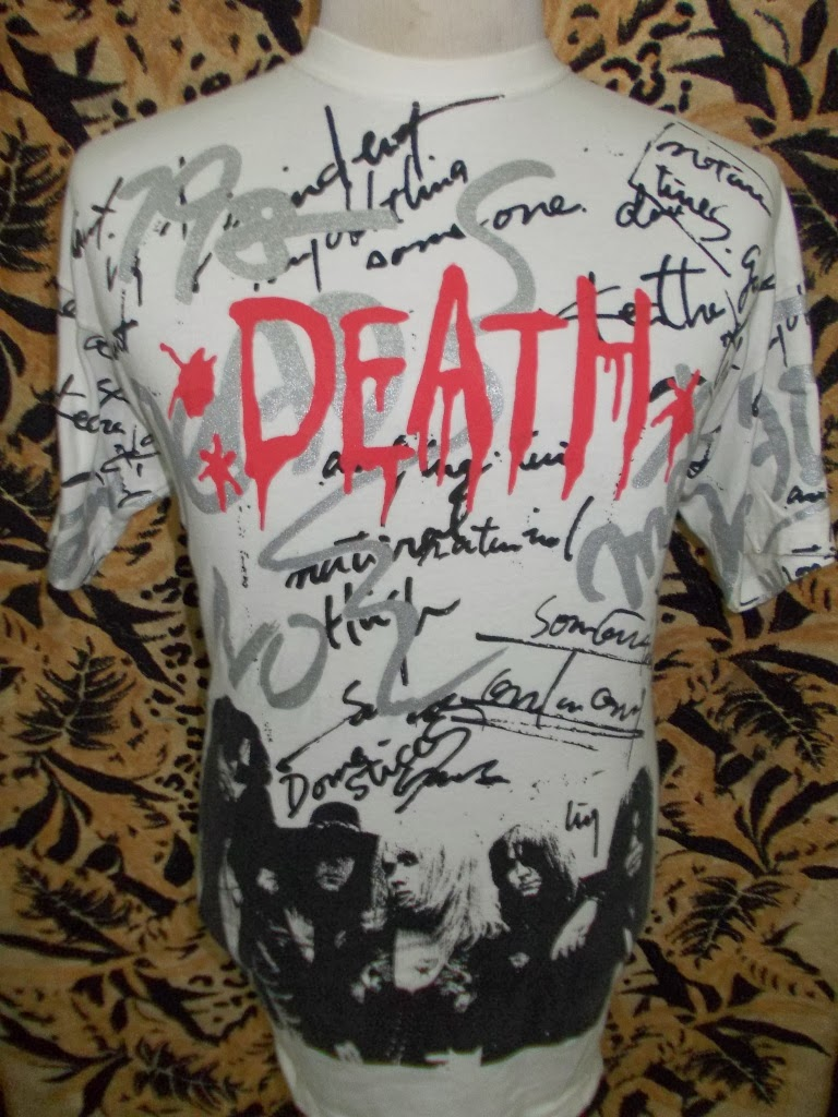 VTG 80s DEATH METAL BAND T-SHIRT
