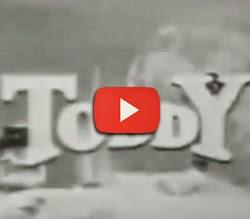 Propaganda do achocolatado Toddy nos anos 50: primórdios da TV no Brasil.