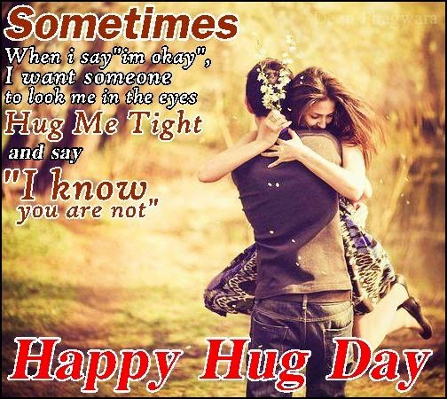 Special 7 Best Happy Hug Day Sms Quotes 2015 Msg Wishes