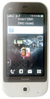 Download Aplikasi HP Nexian Cappucino NX G869