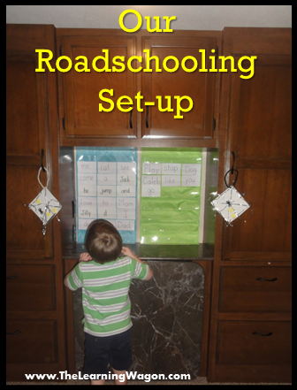 http://rvclassroom.blogspot.com/2015/11/our-roadschooling-set-up.html