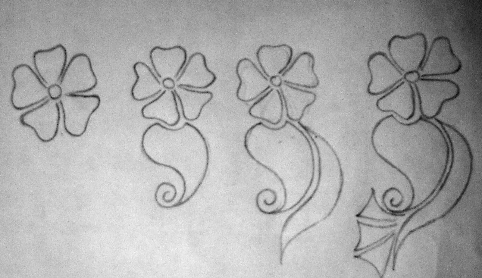 get started with mehndi  joining shapes