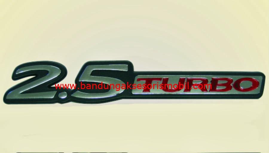 Emblem Car Logo 2.5 Turbo