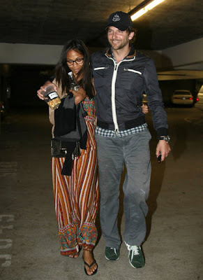 Brad Cooper Girlfriend Zoe Saldana