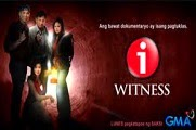 I-Witness October 27, 2016 Replay