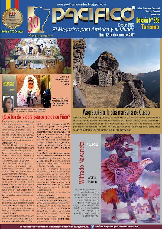 Revista Pacífico Nº 358 Turismo