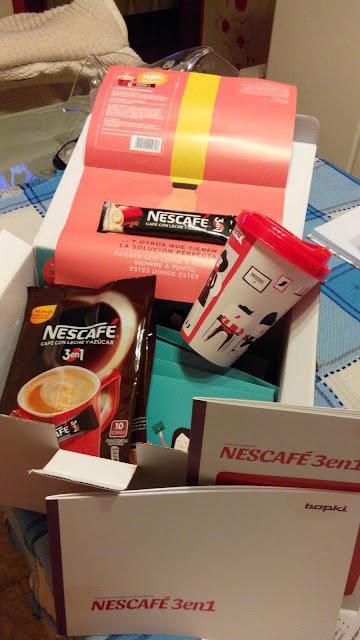 Colaboraci�n con Bopki y Nescafe.
