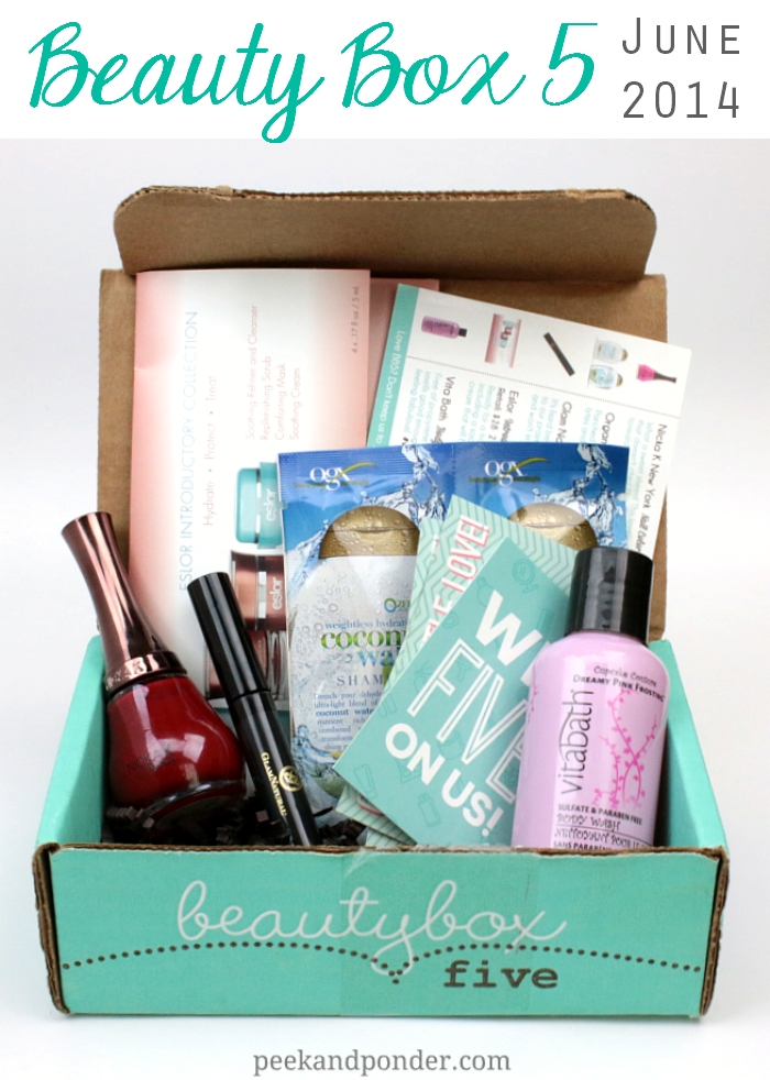 Beauty Box 5 - June 2014