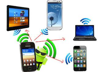 Cara Berbagi/Sharing Jaringan Internet Melalui Wifi Smartphone Android