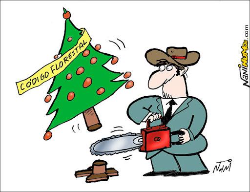 O natal chegou antes para os ruralistas