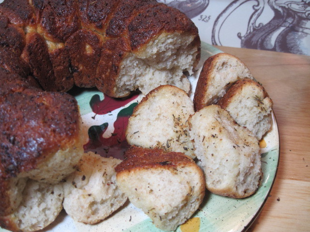 Herb Monkey Bread Recipe