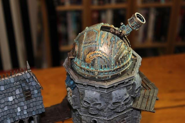 Citadel technical paints - Nihilakh Oxide for copper weathering