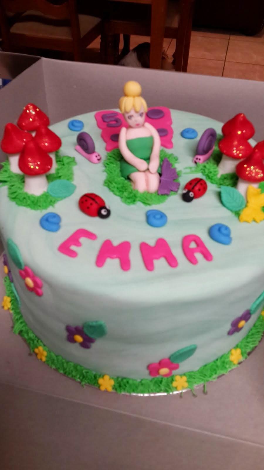 Emma's Tinkerbell Cake