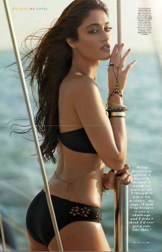 Ileana D'Cruz Hot Bikini Photoshoot for Man's World Magazine April ...