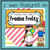 I was on Freebie Friday