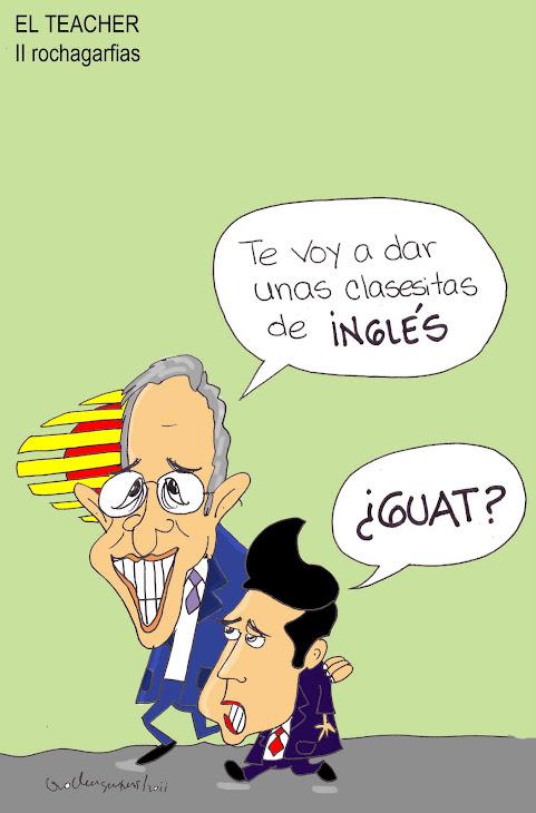 El maistro de inglés de Peña Nieto.
