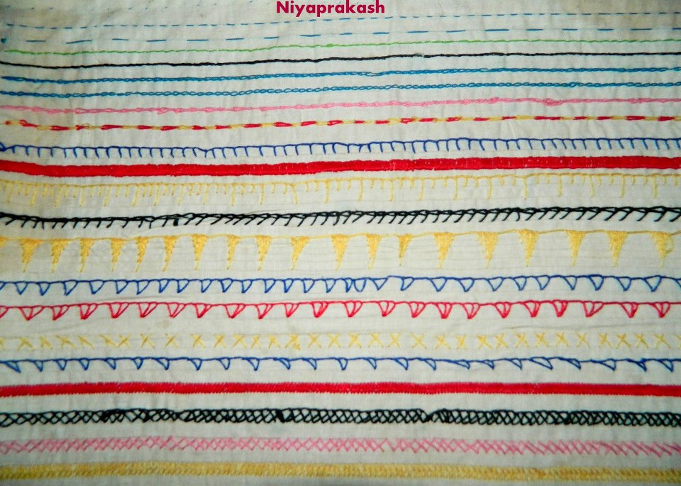 Niya S World Photos Of Basic Hand Embroidery Stitches And Smocking