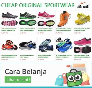 original sport shop termurah