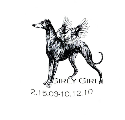 Girly Girl Greyhound Memorial