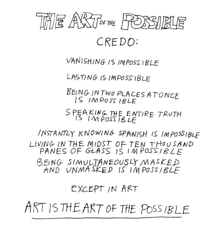 how to write a credo poem