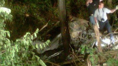 auto de ryan dunn en el accidente exceso de velocidad y alcohol