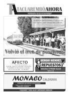 Tapa Tacuarembó Ahora Edición N° 45