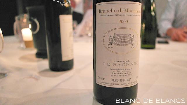 Le Ragnaie Brunello di Montalcino 2009 - www.blancdeblancs.fi