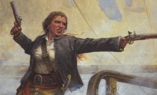 Lesbian ann bonney el pirata