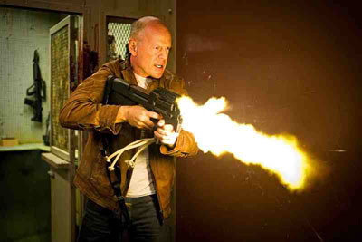 Looper Bruce Willis as Older Joe