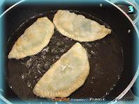 Cassoncini fritti con ripieno di erbette