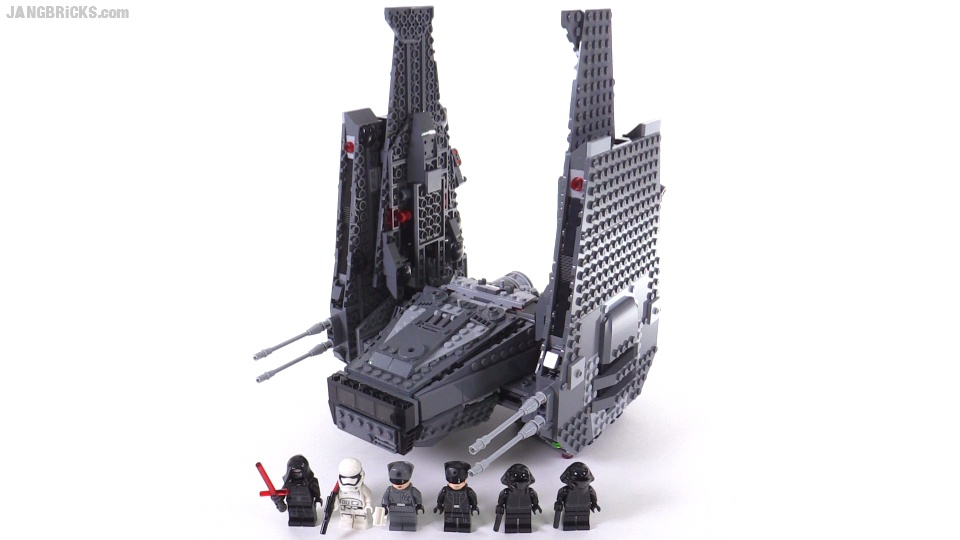 Lego Star Wars Kylo Rens Command Shuttle Build Review 75104