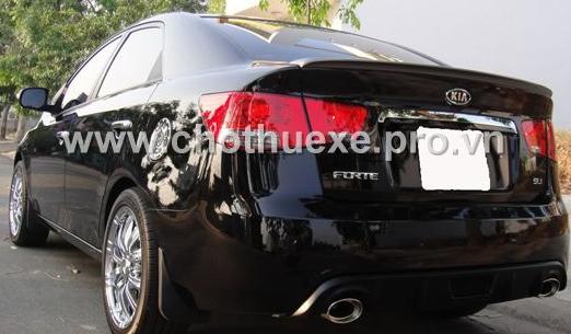 Cho thuê xe 4 chỗ đời mới KIA Forte