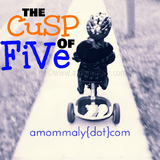 The Cusp of Five via amommaly.com/copyright 2013