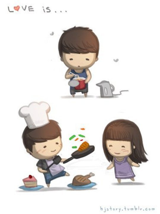 Korean cute Love Wallpaper : TREND FASHION KOREA TERBARU: Sweet Love - Korean cartoon